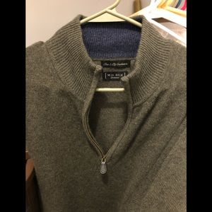Men's W.H.Belk 100 Percent Cashmere Sweater
